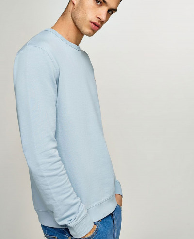 Men-Grey-Marl-Taping-Sweatshirt