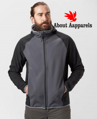Men-Grey-Most-Selling-Softshell-Jacket
