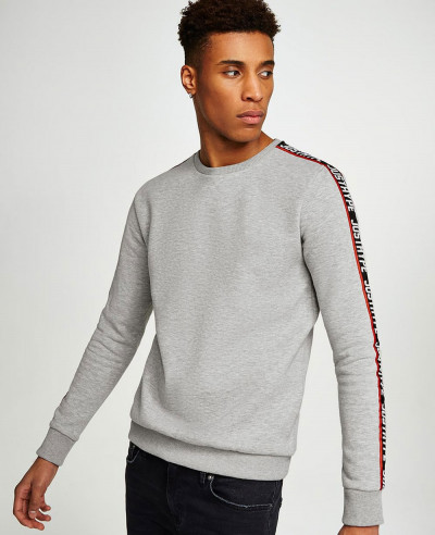Men-Grey-Taping-Sweatshirt