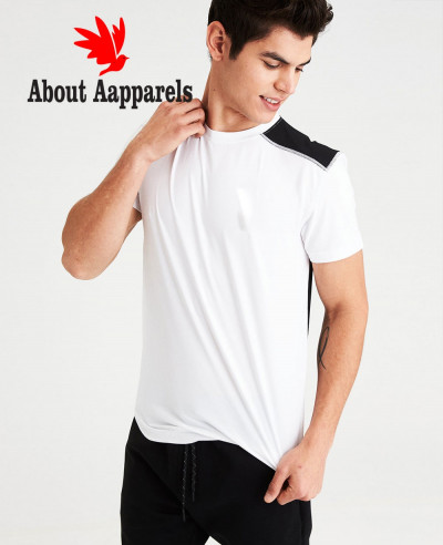 Men-High-Quality-Custom-Sport-Fashion-Mesh-T-Shirts