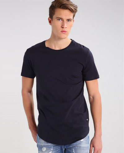 Men-Longline-Sport-Custom-Stylish-Basic-T-Shirt