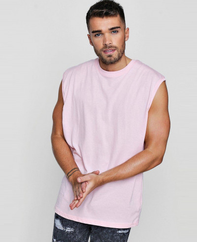Men-Pink-Soft-Oversized-Tank-Top