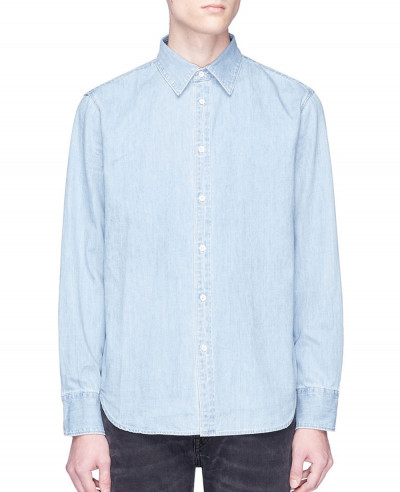 Men-Stylish-Blue-Denim-Shirt