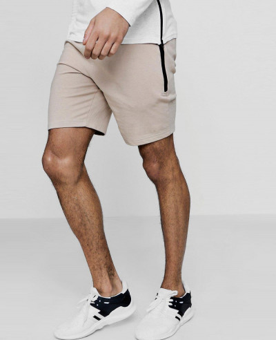 Most-Selling-Skinny-Fit-Shorts-With-Sports-Zipper