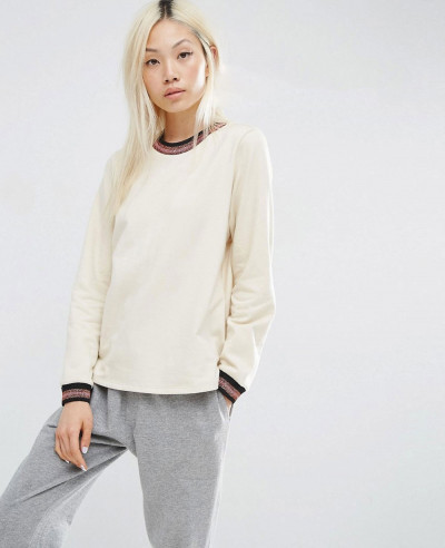 Most-Selling-Women-Stylish-Shirt-With-Sparkly-Tipping-Sweatshirt
