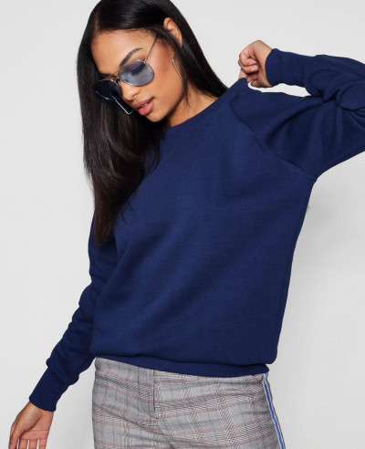 Navy-Blue-Fashion-Crew-Neck-Sweatshirt