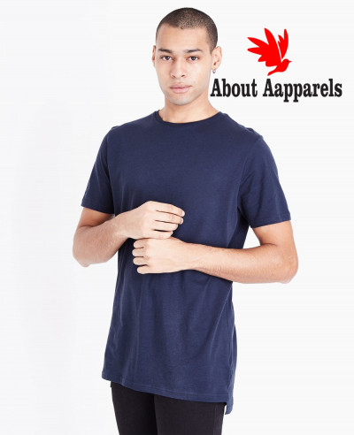 Navy-Blue-Men-Hot-Selling-Custom-T-Shirt