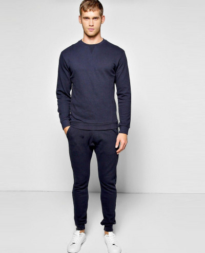 Navy-Blue-Sweater-Tracksuit-In-Pique