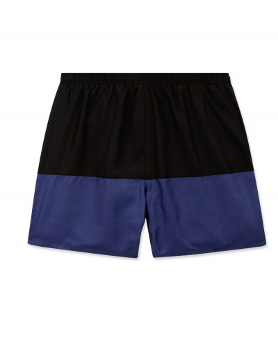 Navy-Contrast-Running-Shorts