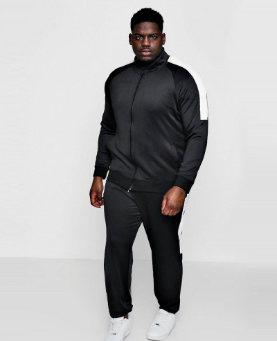 New-Custom-Made-Big-And-Tall-Skinny-Fit-Panel-Tricot-Tracksuit