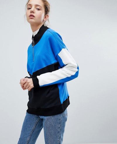 New-Fashionable-Style-Sweatshirt-With-Zipper-High-Neck