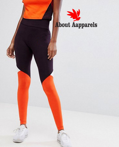 New-Fashionable-Women-Colorblock-Leggings