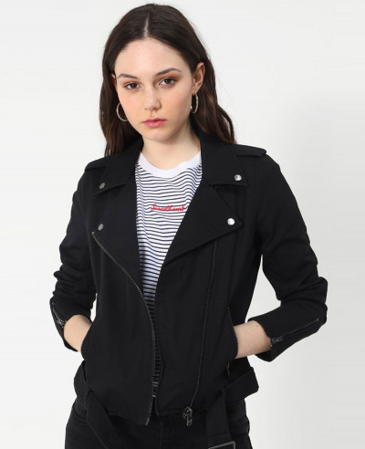 New-Hot-Selling-Black-Denim-Jacket
