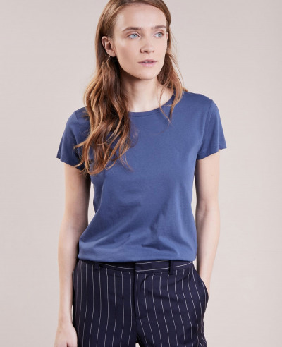 New-Look-Blue-Basic-T-Shirt