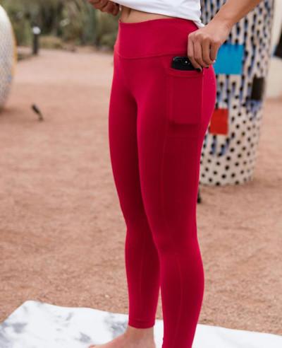 New-Look-Poket-Red-Leggings
