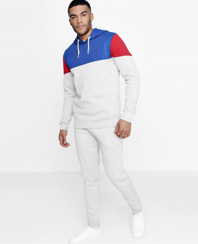 New-Skinny-Fit-Colour-Block-Hooded-Tracksuit