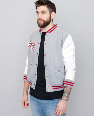 New-Stylish-Brand-Your-Own-Black-Varsity-Jacket
