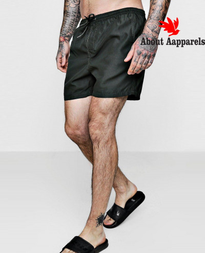 New-Stylish-Plain-Swim-Shorts