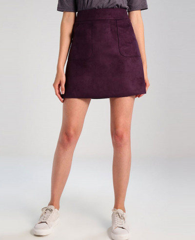 New-Stylish-Women-Burgundy-A-line-skirt