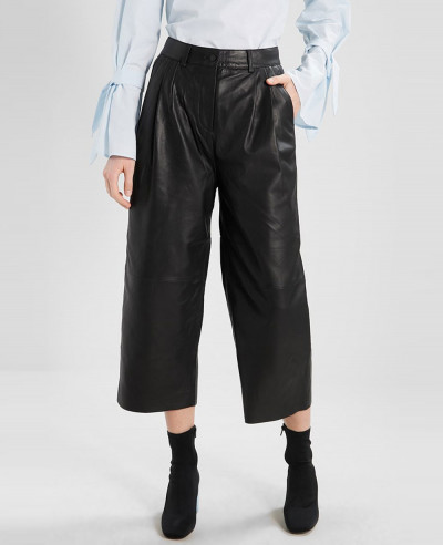 New-Stylish-Women-Moto-Leather-Trousers