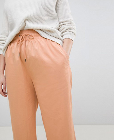 New-Women-Curve-Soft-Wide-Leg-Trousers-in-Dusty-Pink