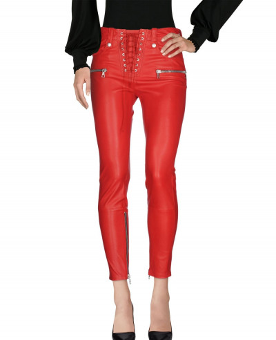 Pencil-Fit-Leather-Pant-With-Crossed-Zipper-Pouch-Pant