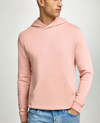 Pink-Pullover-New-High-Look-Men-Hoodie