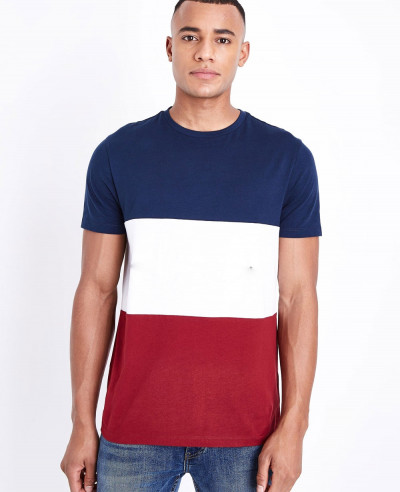 Red-New-York-Block-Stylish-Actores-T-Shirt