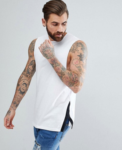Relaxed-Vest-with-Contrast-Side-Splits