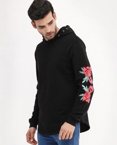Rose-Embroidered-Curved-Hem-Hoodie