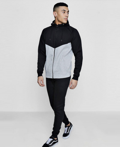 Skinny-Fit-Colour-Block-Tracksuit