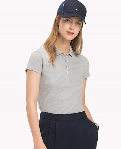 Slim-Fit--Grey-Polo-Shirt