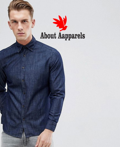 Slim-Fit-Denim-Shirt