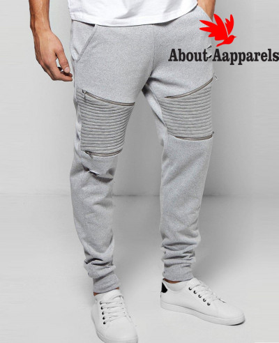 Sweatpant-Skinny-Fit-Biker-Joggers-With-Rips-And-Zipper