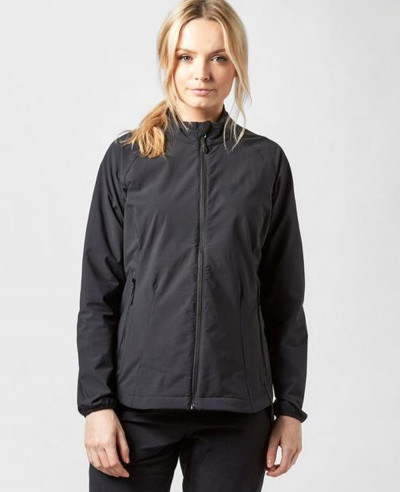 Women-Black-Softshell-Jacket