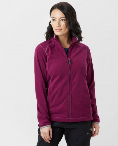 Women-Burgundy-New-Custom-Grasmere-Fleece-Jacket