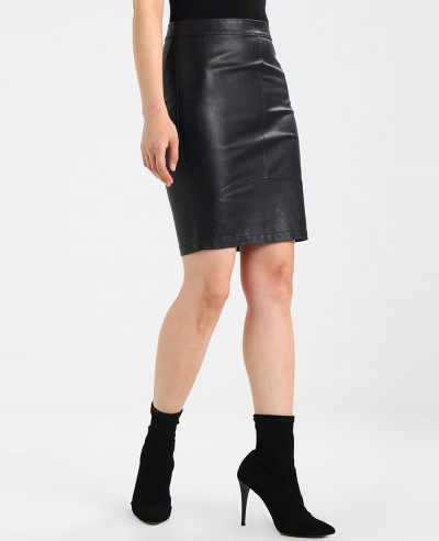 Women-Cheap-Fashion-Leather-Skirt