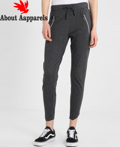 Women-Grey-Jersey-Zipper-Jogger
