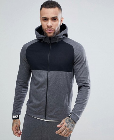 Zip-Up-Through-Colour-Block-Hoodie-In-Grey