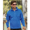 Men-Fashionable-Half-Zipper-Outdoor-Fleece-Jacket