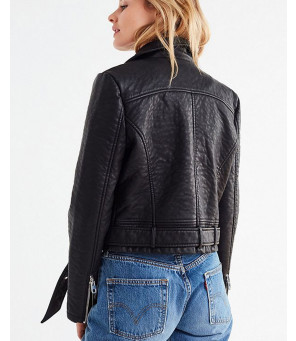 New-Style-Black-Faux-Leather-Moto-Jacket