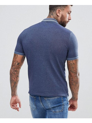 Blue-Tipped-Polo-Shirt-In-Navy