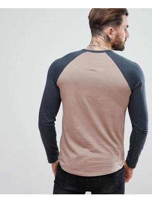 Fashionable-Stylish-Sport-Long-Sleeve-Contrast-Raglan-T-Shirt