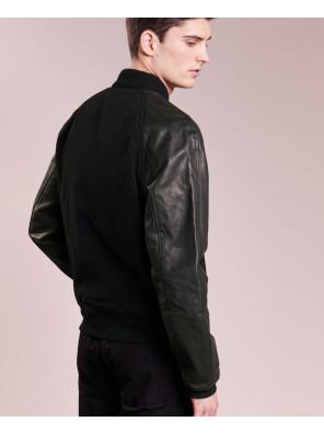 High-Custom-Made-Varsity-Bomber-With-Real-Leather-Sleeves-Bomber-Varsity-Jacket