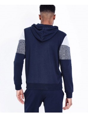 High-Quality-Men-Navy-Colour-Block-Zipper-Front-Hoodie