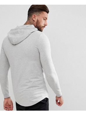 Longline-Gym-Muscle-Hoodie-With-Curved-Hem-In-Grey