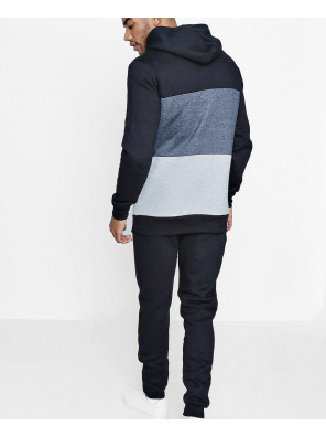 Men-Skinny-Fit-Colour-Block-Hooded-Tracksuit