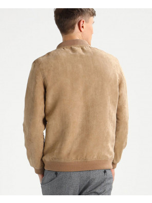 Men-Suede-Biker-Faux-Leather-Jacket