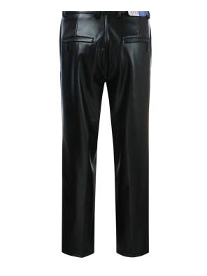 Men-Vintage-Winter-Leather-Motorcycle-Slim-Fit-Pants-Zip