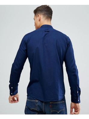 New-Fashionable-Denim-Shirt-In-Blue